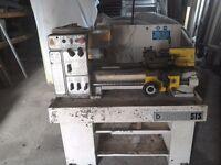 Boxford metal lathe