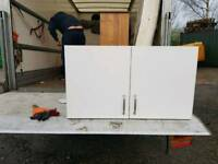 Double wall cabinet 1 metre