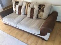 3 SEATER SOFA £77 COLLECTION ONLY