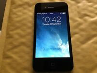iPhone 4 8GB BLACK ( O2, Giffgaff And Tesco)
