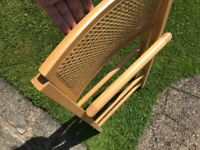 Rattan Dining Chair (crafting project)