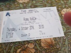 2 x Ross Noble Tickets, Anvil, Basingstoke, Thurs 4th October