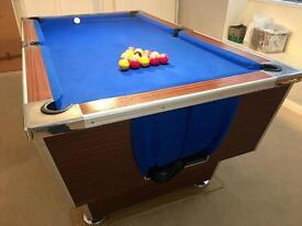 Pool Table 6f x 4f pub league