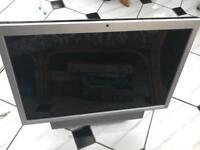 "Dell 22"" flatscreen monitor with soundbar"