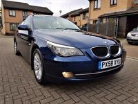 BMW 5 Series 520d SE 4dr Manual, Full Service History Long Mot HPI Clear SAT NAV, Leather Seats