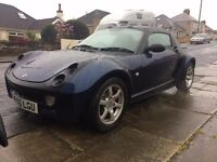 Smart roadster black/blue 81hp 0.7 rh