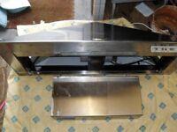 Rangemaster cooker hood CH120 spares or repair.