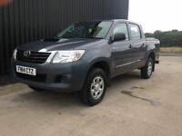 2014 Toyota Hilux 2.5 D-4D Active Double Cab Pickup 4WD 4dr 3 Keys, One Owner Finance Available