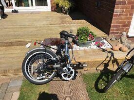 2 x Apollo Contour Folding Bikes VGC