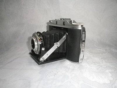 Agfa Isolette III Klappkamera Rollfilmkamera mit Tasche