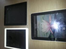 x3 ipads spares and repairs