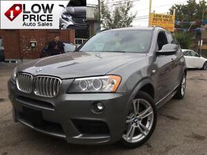2014 BMW X3 M*Sport*Navi*Camera*LedLights&Warranty*