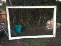 victorian window frame