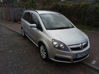 2006 Vauxhall Zafira 1.6 i 16v Club 5dr Manual @07445775115