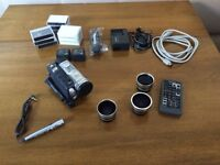 Camcorder Panasonic NV-GS200 3CCD 500x Digital zoom Leica lens (with accessories)