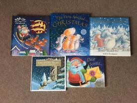 Kids xmas hardback story books 🎄