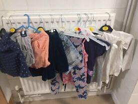 girls 11 items 5-6years