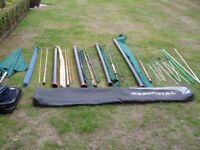 FISHING RODS,REELS,NETS ,RESTS, ROD BAG,SEAT ETC. ALL REASONABLE OFFERS ACCEPTED?