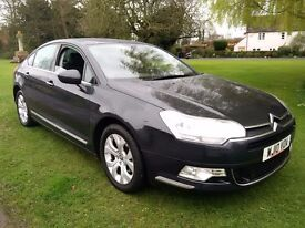 2010 Citreon C5 Exclusive Diesel,manual six speed, fully loaded, long Mot, history, PX bargain .