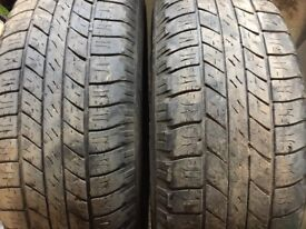255/65 17 tyres