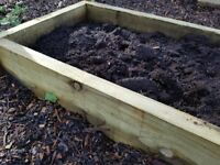 Tanalised Beams For Raised Beds And Landscaping