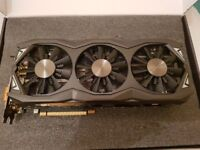 """""""sold"""" zotac GTX 980 Ti amp! EXTREME 6gb Graphics Card excellent condition"""