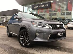 2013 Lexus RX 350 F-Sport AWD Navi Leather Back Up Cam Sunroof B