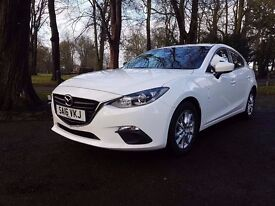 2016 MAZDA 3 SE WHITE CAT C never been involved an accident