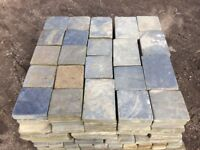 RECLAIMED NATURAL SOLID SLATE PAVING - LARGE STOCK AVAILABLE