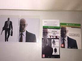 Hitman Steelbook edition Xbox One