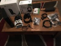 Xbox 360. 250gb! £100. Mint condition. 2 controllers, 19 games including GTA5