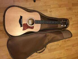 Taylor 110e Electro Acoustic Guitar Pro Setup with Case