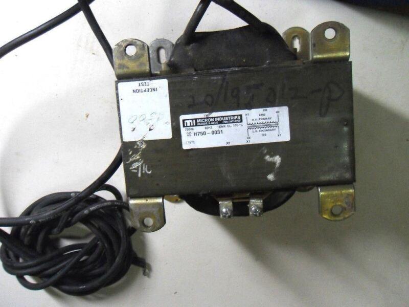 (L25) 1 MICRON H7500031 TRANSFORMER