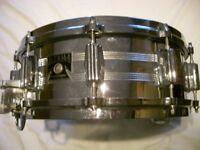 "Tama Imperial Star seamless steel snare drum 14 x 5 1/2"" - Japan - '80s - Original model"