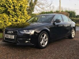 Black 2012 Audi A4 SE (Facelift Model)