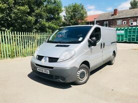 RENAULT TRAFIC 08 REG LOW MLS