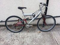 Little Rock Mountain bike( Lighting by Custom Dynamics)