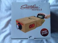 Smartphone projector 2.0 new unopened