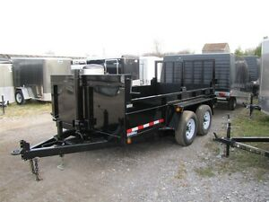 2017 Advantage 5 TON 12ft DUMP TRAILER