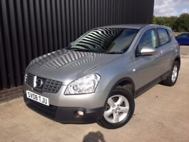 2008 Nissan Qashqai 2.0 Acenta 2WD 5dr, Service History, 12 Months MOT, 1 Month Warranty, May PX