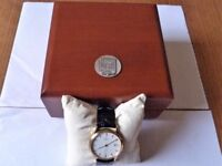 """Gents """"ZENITH"""" QUARTZ GOLD WATCH In Excellent Condition and Working Order Hardly Used."""