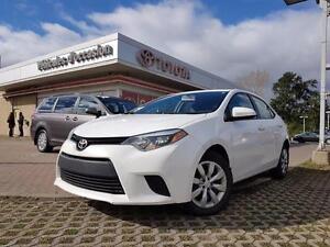 2014 Toyota Corolla LE BACKUP CAMERA, HEATED SEATS