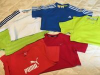 Six Boys Sports T Shirts Bundle