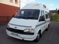 Ford Transit camper, diesel 2.5 2 berth & drive away awning very clean classic camper ready to use
