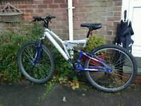 British eagle full suspension mountain bike