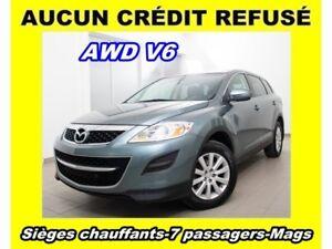 2010 Mazda CX-9 AWD V6 7 PASSAGERS MAGS *SIÈGES CHAUFFANTS*