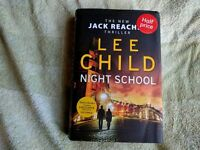 LEE CHILD, NIGHT SCHOOL HARDBACK