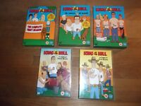 King of the Hill DVD Box Sets Season 1 - 5 (136#)