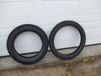 pirelli mt43 pro front and rear tyres motorbike trials new