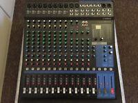 Yamaha MG16XU Mixing Desk With Case